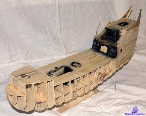 Как своими руками сделать корабль из дерева своими руками в домашних условиях