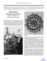 Bobbit J.M. Making a Ships Wheel