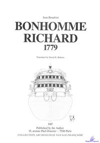Boudriot Jean. Bonhomme Richard, 1779