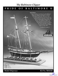 The baltimore Clipper - Pride of Baltimore (Instructions)