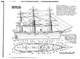 Верный, Учебное судно, 1895