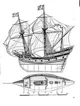 Меркурий, Корабль Вильяма Баренца