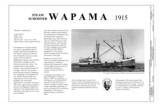 Wapama, steam schooner, 1915