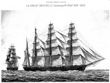 La Great Republic, Clipper, 1853