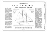 Lettie G. Howard, Schooner
