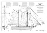 Marseille, Topsail schooner, 1764