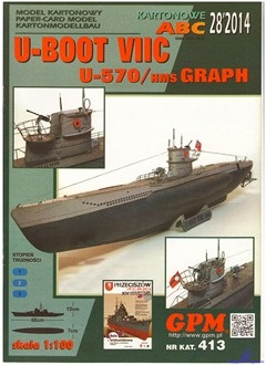U-BOOT VIIC U-570 ⁄ HMS GRAPH
