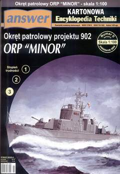 Ship of patrol project 902 ORP Minor