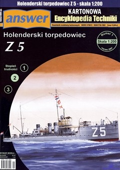 Hollandisches Torpedoboot Z5