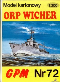 Polish Destroyer ORP Wicher