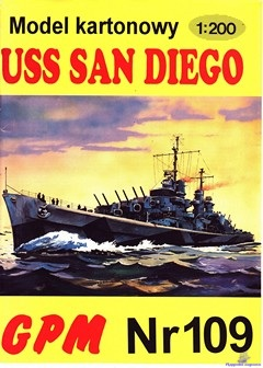 Light Cruiser CL(AA)-53 USS San Diego