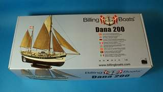 Dana Fishingboat от Billing Boats